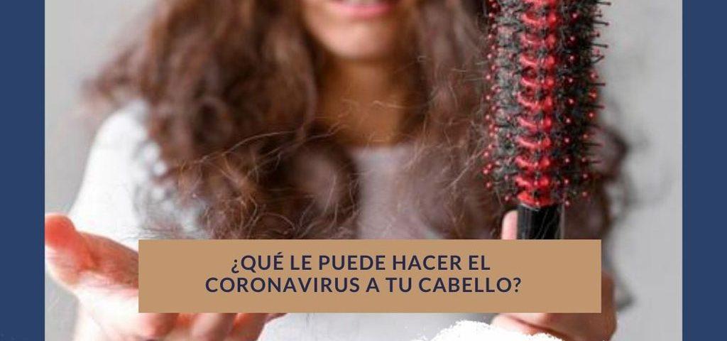 coronavirus caida del cabello