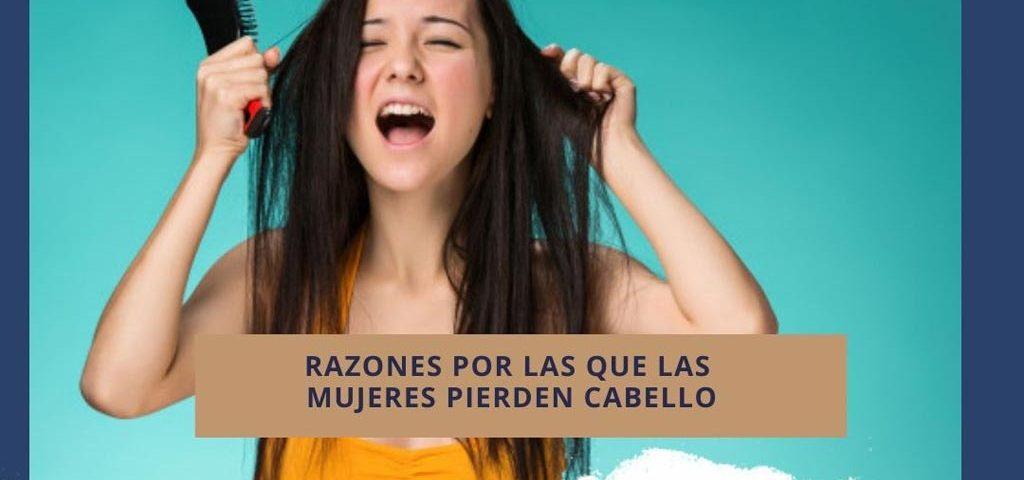 Razones por las que las mujeres pierden cabello